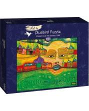 Puzzle Bluebird de1000 piese - Irinaland over the Balkans, 1969