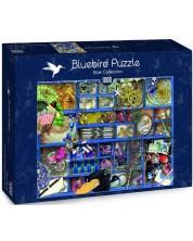 Puzzle Bluebird de 1000 piese - Blue Collection