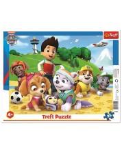 Puzzle Trefl de 25 piese - Paw Patrol on the trail