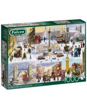Puzzle Falcon de 1000 piese - A Winter in London