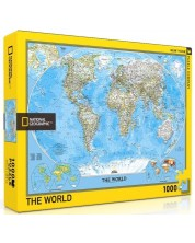 Puzzle New York Puzzle de 1000 piese - National Geographic World Map