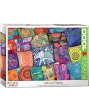Puzzle  Eurographics de 1000 piese - Indian Pillows -1