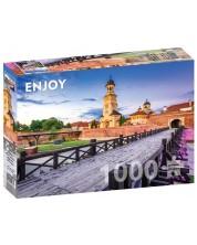 Puzzle Enjoy de 1000 piese - Cetatea Alba Carolina, Alba-Iulia