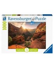 Puzzle Ravensburger de 1000 piese - Zion Canyon