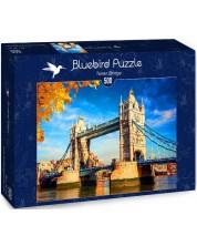 Puzzle Bluebird de 500 piese - Tower Bridge, London