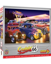 Puzzle Master Pieces de 1000 piese - Friday Night Hot Rods