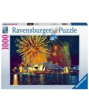 Puzzle Ravensburger de 1000 piese -Fireworks Over Sydney Australia