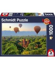 Puzzle Schmidt de 1000 piese - Hot Air Ballons