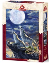 Puzzle Art Puzzle 1000 piese - Luna plina