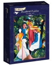 Puzzle Bluebird de 1000 piese - Four Girls, 1913