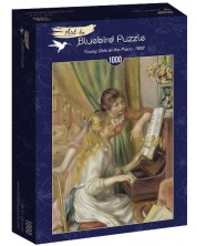 Puzzle Bluebird de 1000 piese - Young Girls at the Piano, 1892