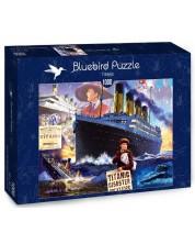 Puzzle Bluebird de 1000 piese -Titanic