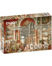 Puzzle Enjoy de 1000 piese - Paolo Panini: Views of Modern Rome