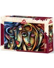 Puzzle Art Puzzle 1000 piese - Trasaturi feminine