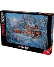 Puzzle  Anatolian de 1000 piese -Winter magic