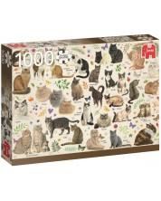 Puzzle Jumbo de 1000 piese - Pisici