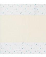 Scutec din muselina Kikka Boo - Ships, 75 x 70 cm -1