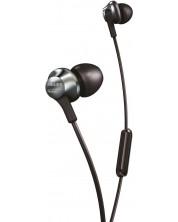 Casti cu microfon Philips PRO6105BK - negre