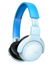 Casti wireless pentru copii Philips - TAKH402BL, albastre
