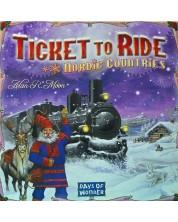 Joc de societate Ticket to Ride - Nordic Countries