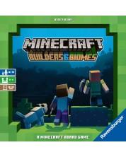 Joc de societate Minecraft: Builders & Biomes - familie