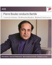 Pierre Boulez - Pierre Boulez Conducts Bartok (4 CD)
