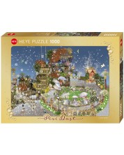 Puzzle Heye de 1000 piese - Parc de basm