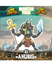 Extensie pentru joc de societate King of Tokyo/New York - Monster Pack: Anubis