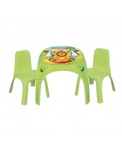 Pilsan Masa cu doua scaune King Verde -1