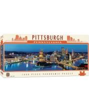 Puzzle panoramic Master Pieces de 1000 piese - Pittsburgh Pensilvania