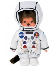 Jucarie de plus Monchhichi - Maimuta astronaut, 20 cm