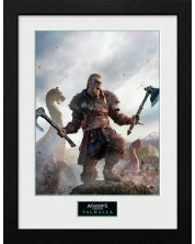 Poster cu rama GB Eye Assassin's Creed Valhalla - Gold Edition