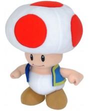 Jucarie de plus ABYstyle Nintendo: Super Mario Bros. - Toad, 20 cm