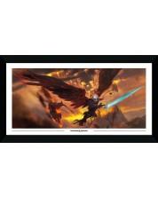 Poster cu rama GB eye Games: Dungeons & Dragons - Descent into Avernus