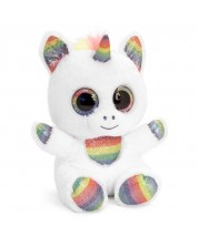 Jucarie de plus Keel Toys Animotsu - Unicorn Shimmer, 15 cm