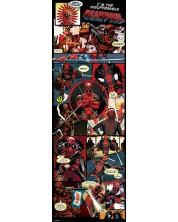 Poster pentru usa Pyramid - Deadpool (Panels)