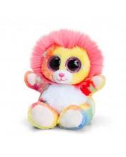 Jucarie de plus Keel Toys Animotsu - Leu colorat, 15 cm