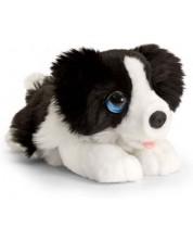 Jucarie de plus  Keel Toys -  Border Collie sezand, 25 cm