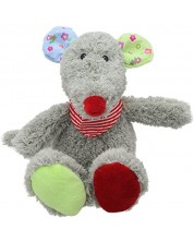 Jucarie de plus The Puppet Company Wilberry Snuggles - Soricel, 25 cm