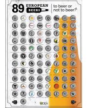 Poster de zgariat: 89 European Beers -1