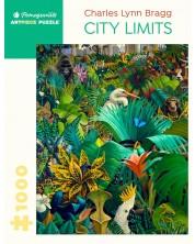 Puzzle Pomegranate de 1000 piese - Granitele orasului, Charles Lynn Bragg -1