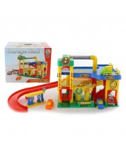 Set de joaca Polesie Toys - Garaj Lift -1