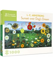 Puzzle Pomegranate de 1000 piese - Sunset over Dog's dream, L. C. Armstrong -1