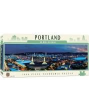 Puzzle panoramic Master Pieces de 1000 piese - Portland, Oregon
