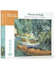Puzzle Pomegranate de 1000 piese - Bank  of the Oise at Auvers, Vincent van Gogh -1
