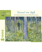 Puzzle Pomegranate de 1000 piese - In padure cu 2 figuri, Vincent van Gogh -1
