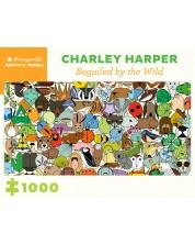 Puzzle Pomegranate de 1000 piese - Vrajit de salbaticie, Charlie Harper -1