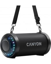 Boxa portabila Canyon - BSP-7, neagra