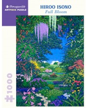 Puzzle Pomegranate de 1000 piese - Full Bloom, Hiroo Isono -1