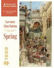 Puzzle Pomegranate de 1000 piese - Lawrence Alma-Tadema, Spring -1